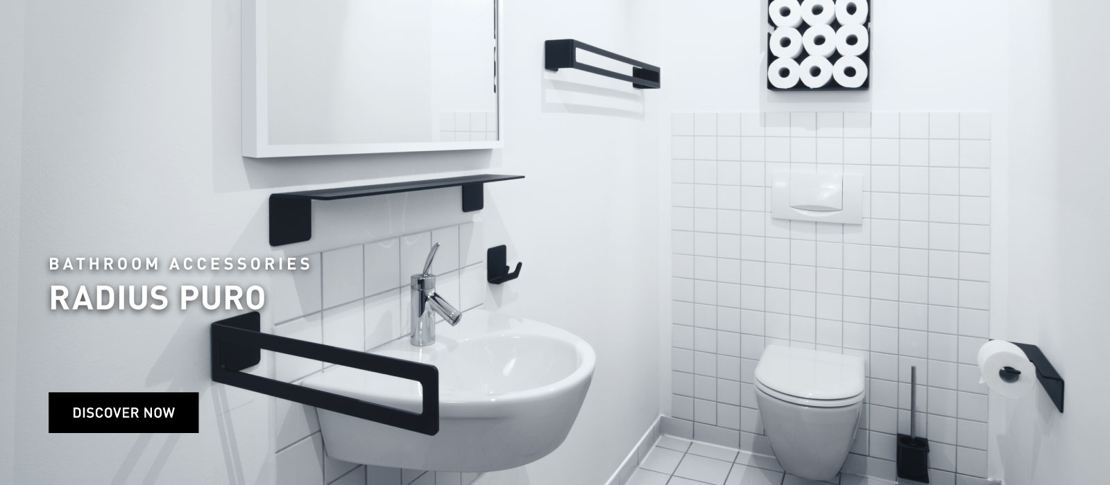 Bathroom accessories RADIUS Puro
